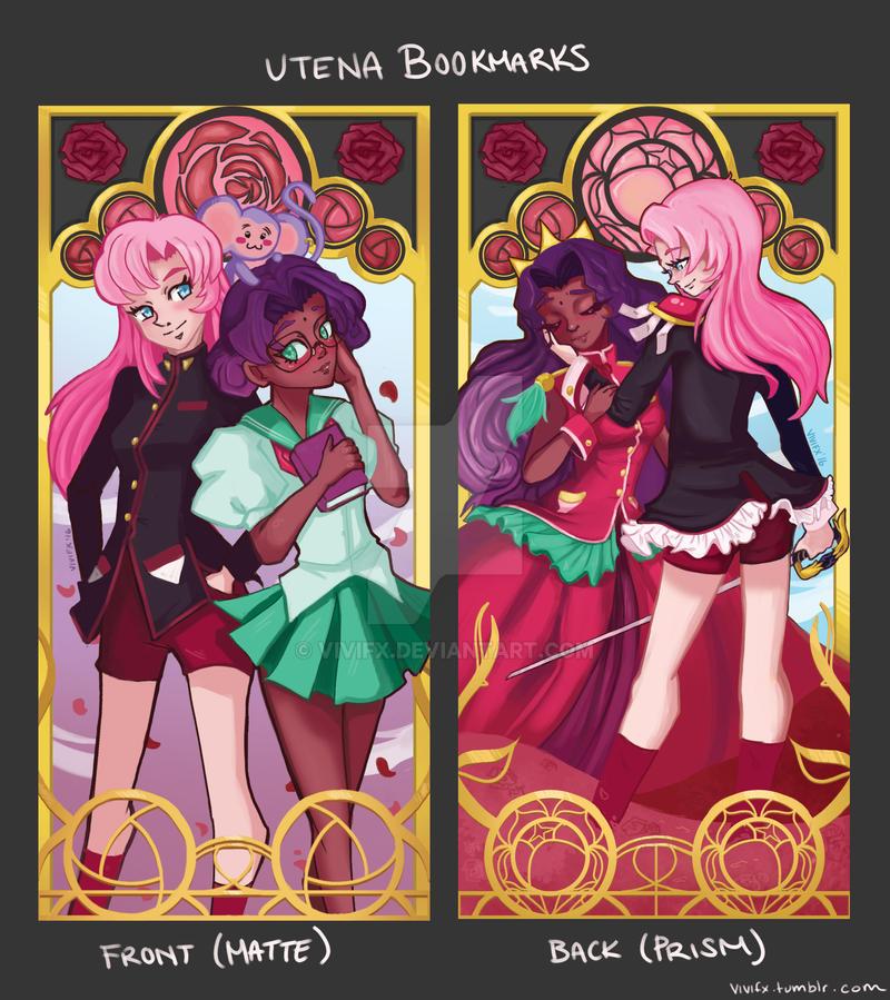 Magical Girl Nouveau: Utena Bookmarks by Vivifx