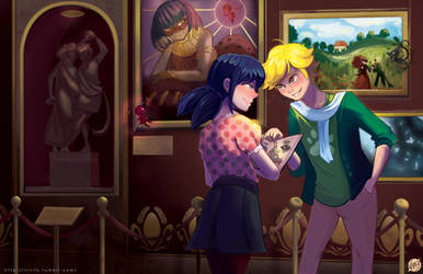 Just a Day in the Louvre by Vivifx
