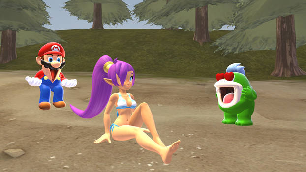 [SFM SMG4 Collab] Mario and the Half Genie