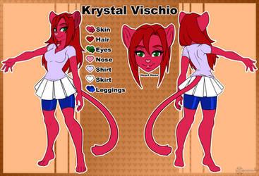 (Ref Sheet) Krystal!
