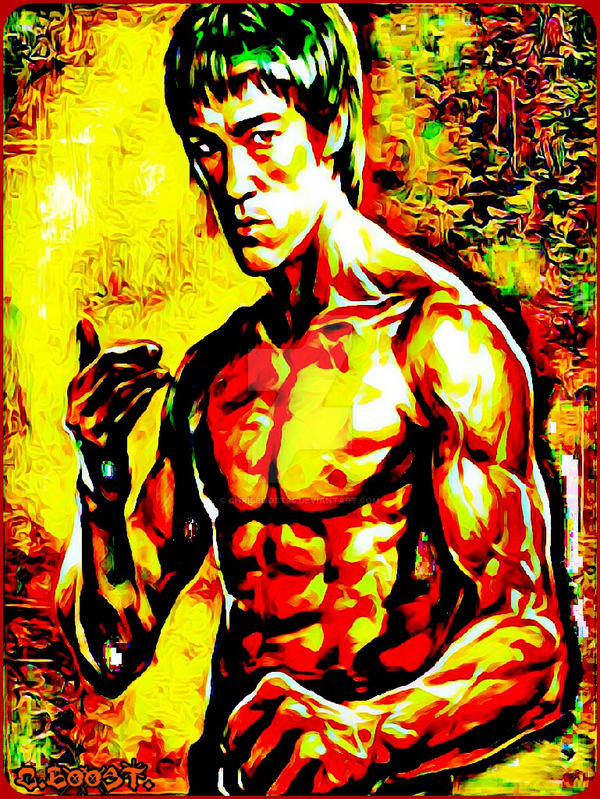Bruce Lee  by Chrisboost94