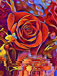 REFLETS de ROSES