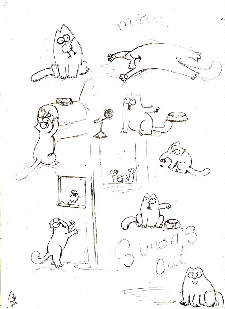 Simons Cat Artist