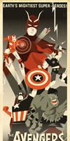 Art Deco Avengers