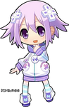 Chibi Neptune [RENDER] #1