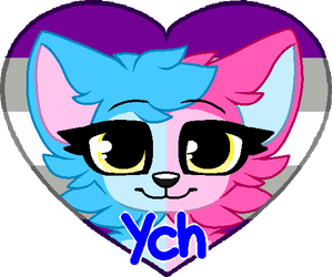 Pride Heart YCH - 10 Points