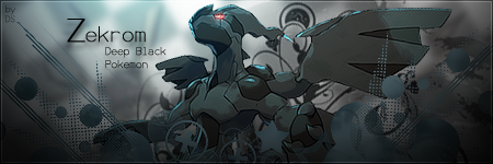 Zekrom - Deep Black Pokemon by Dragon-Slayer7