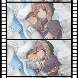 Winter Selfies by shroomsiee