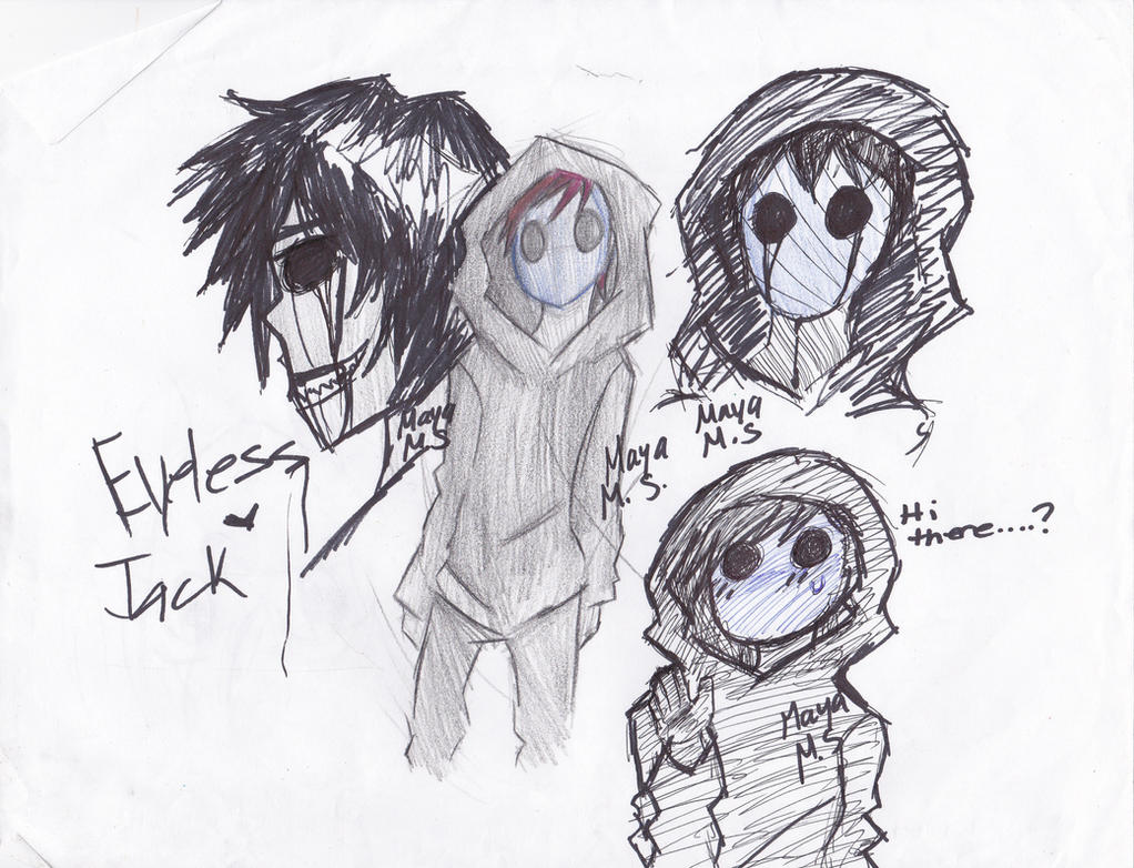 Eyeless Jack Dump by Wolf-Eared-Girl