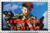 Freedom Fighter Stamp by Momo-PixiFrog