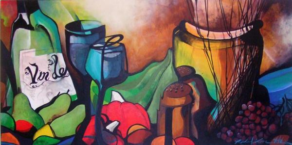 Painting Profeasional Kitchen Aid Mixer