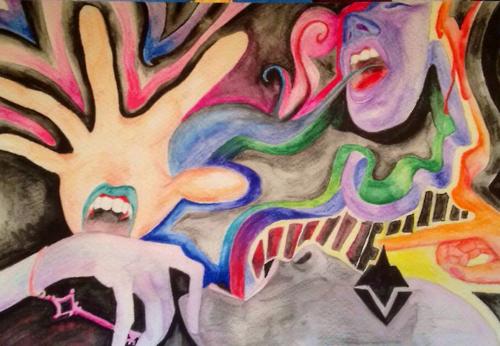 watercolorinis fun by JuliaZeldaMiraglia