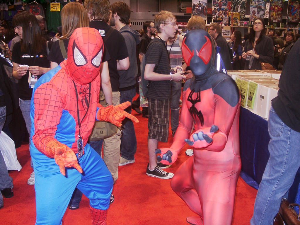 C2E2 2012 Saturday - Peter and Kaine by soryukey