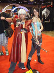 C2E2 '13 Sunday - Dante and Lara Croft