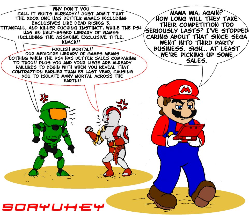 Console Wars Now... by soryukey