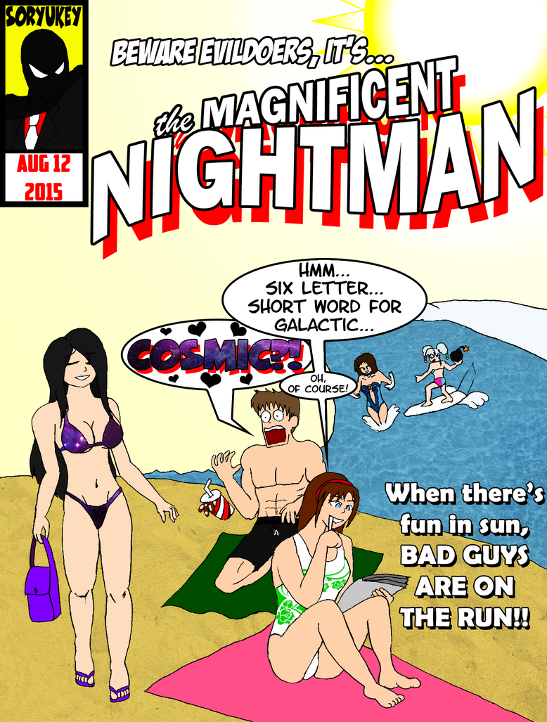 Beach Bummer Comic Cover by soryukey
