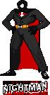 Nightman CPS-2 Sprite by soryukey