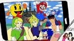 Art Academy - Greetings from Smash 2 by soryukey