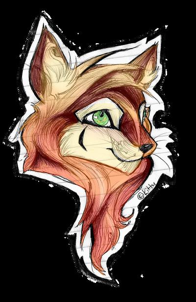 Fox Badge by FREAKKATT