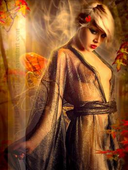.Autumn breath.