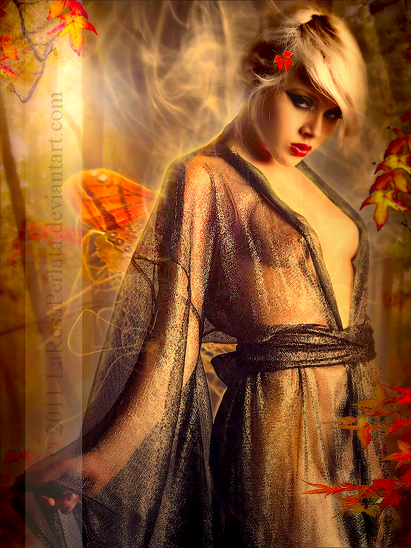 .Autumn breath. by larosaperlata