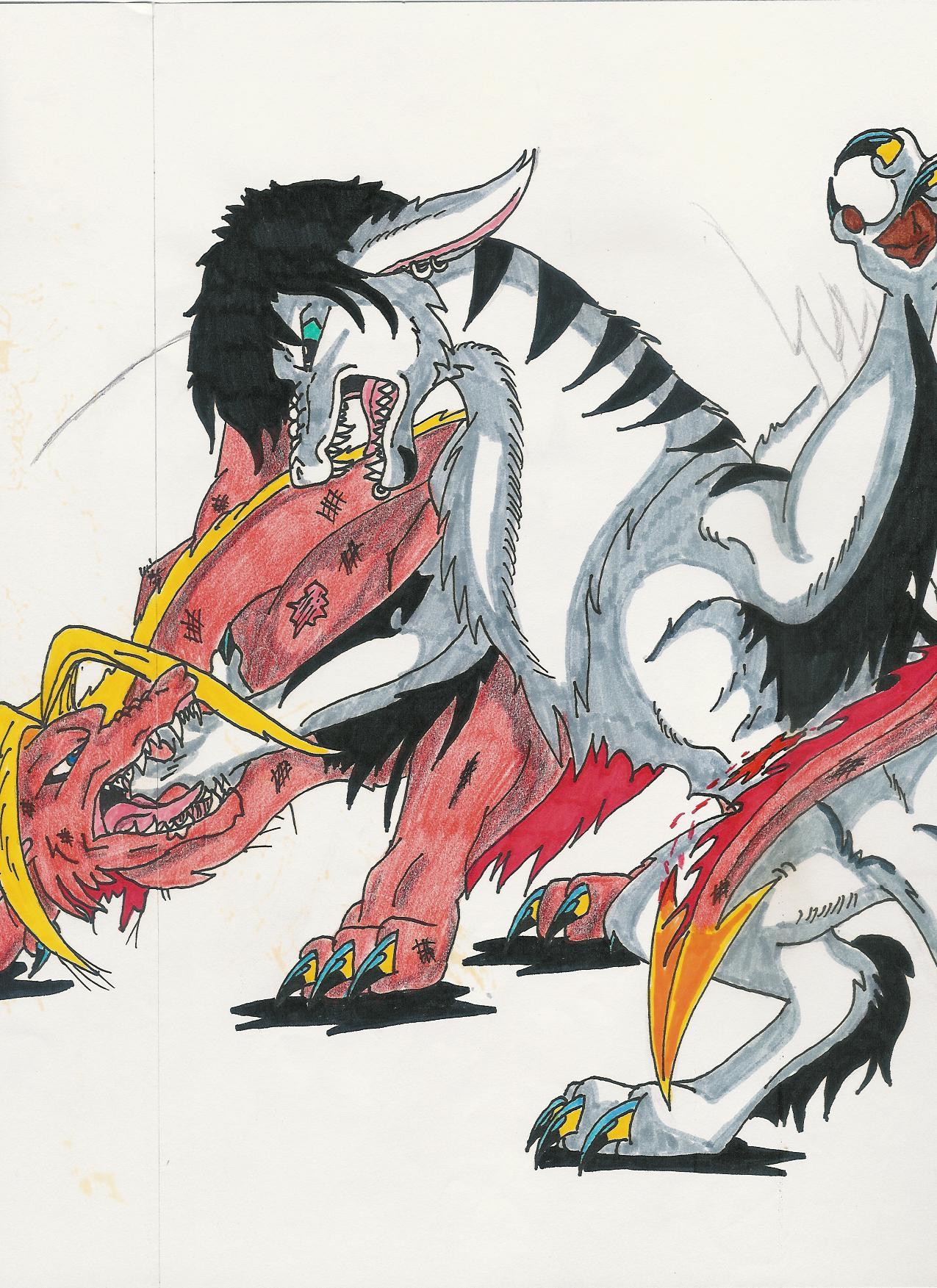 fight-dragons2 by dracula-vs-werewolf on DeviantArt