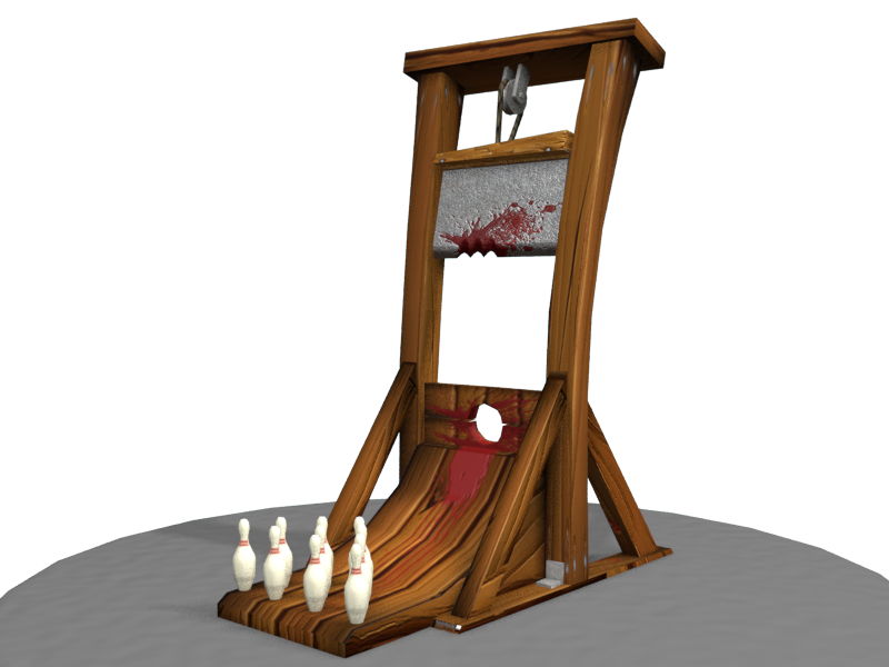 Guillotine 3D by conesa69 on DeviantArt