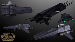 New Republic Prowler-Class Reconnaissance Vessel