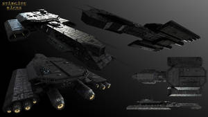 Tau'ri BC-304 Battlecruiser v2 Multi-View
