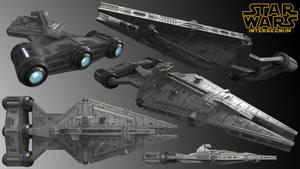Imperial Arquitens Class Command Cruiser