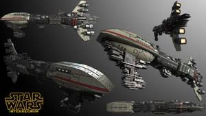 Rebel Alliance Assault Frigate Mk I
