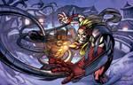 Wolverine Vs. Omega Red