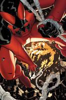 Scarlet Spider issue 2 cover by RyanStegman