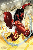 Scarlet Spider splash 2 by RyanStegman