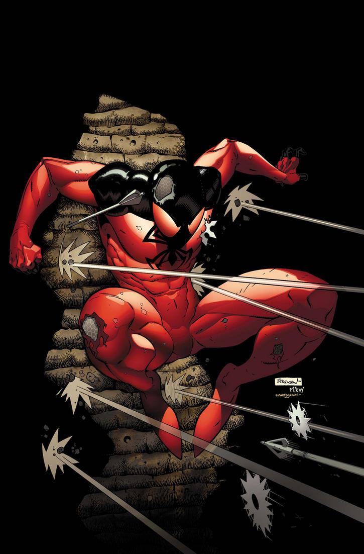 Scarlet Spider 4 cover by RyanStegman