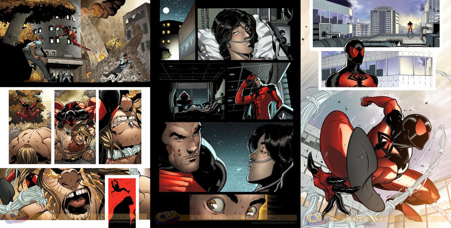 More scarlet spider 2 previews by RyanStegman