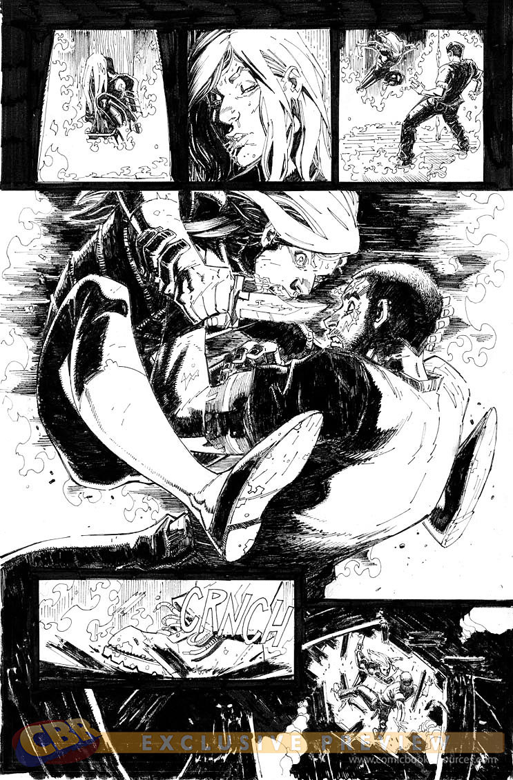Scarlet Spider issue 6 page 1 by RyanStegman