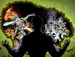 Fantastic Four 610 cover FF 22 cover