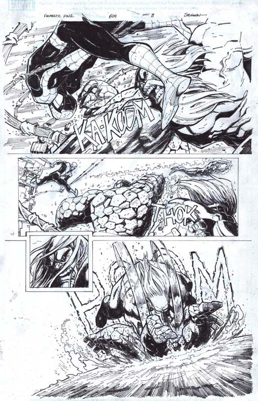 Fantastic Four 609 original art now on sale by RyanStegman