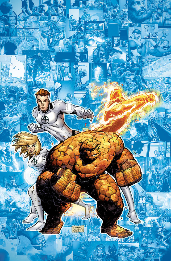 Fantastic Four 611 cover by RyanStegman