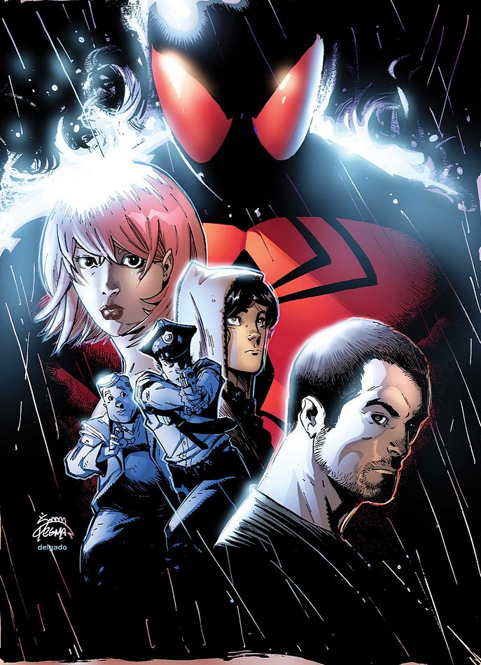 Scarlet Spider 12 cover by RyanStegman