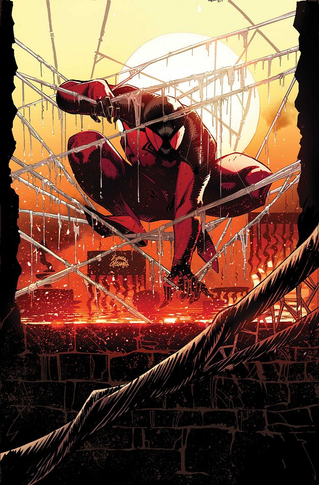 Scarlet Spider 12.1 cover by RyanStegman