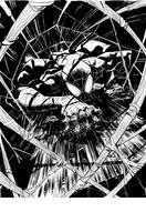 Superior Spider-Man inks by RyanStegman