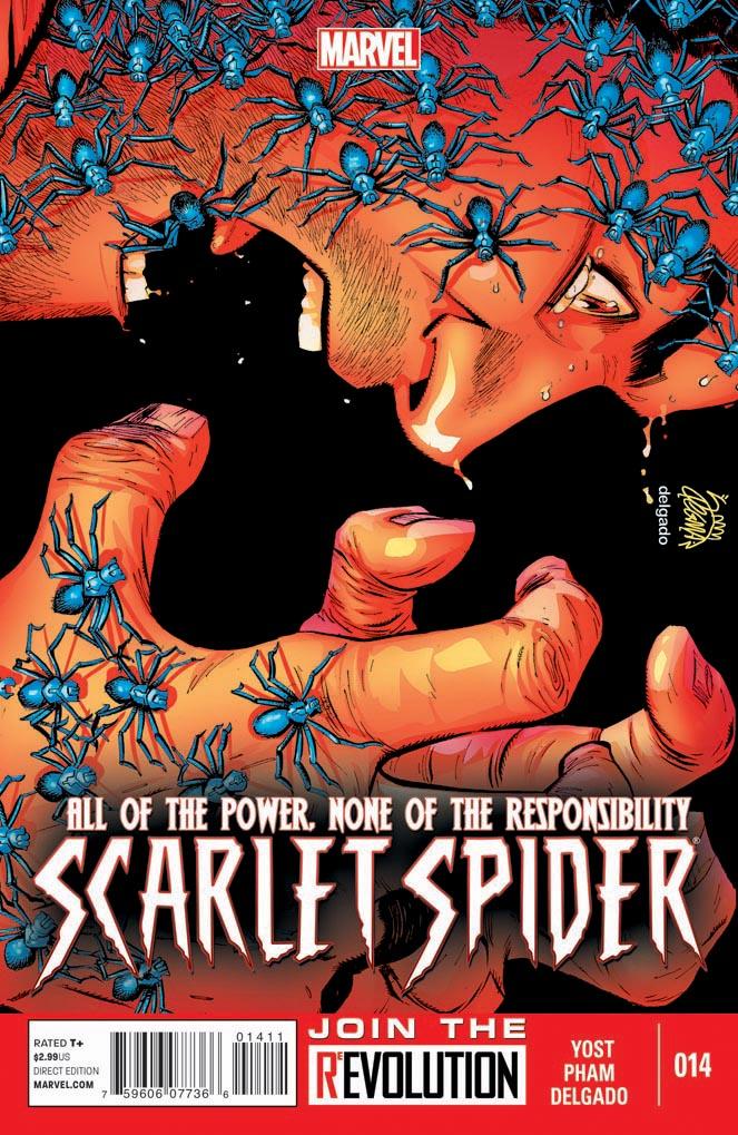 Scarlet Spider 14 cover by RyanStegman