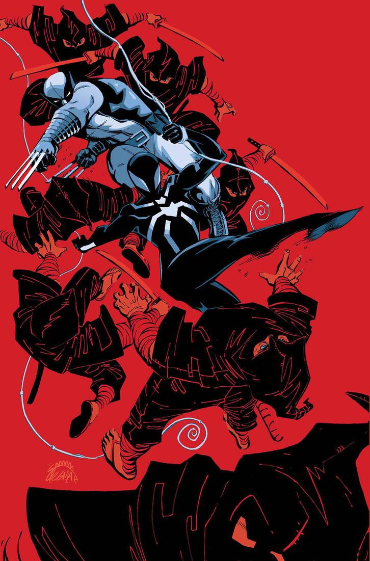 Scarlet Spider 19 Cover by RyanStegman