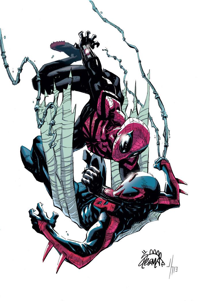 Superior Spider-Man 18 cover by RyanStegman on DeviantArt