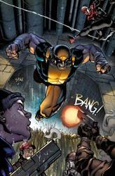 Splash page from Wolverine 2 by RyanStegman