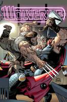 Wolverine 5 cover by RyanStegman