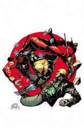 Wolverine 8 Cover by RyanStegman