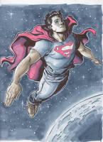 Superman commission by RyanStegman